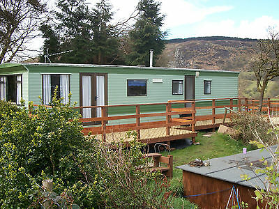 To Let Holiday Caravan, Nr. Bala Lake, North Wales, On a Small Farm, Very Quiet,