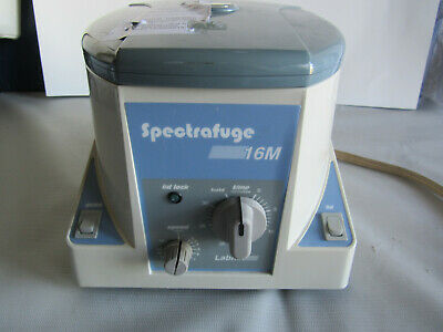 Labnet SpectraFuge 16 Centrifuge (Model# C0160-B) 18 Tube Compartment Rotor