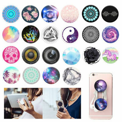 Pop Up Phone Holder Selfie Finger Grip Stand For iPhone Samsung Mobile