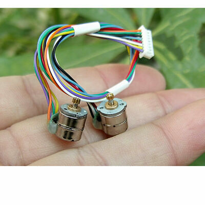 8MM Micro Small Planetary Gear Stepper Motor Copper Gear 2-phase 4-wire DIY Part