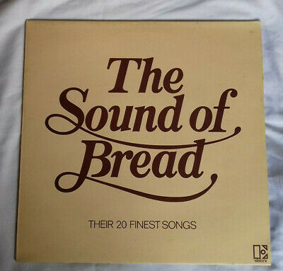 "Bread - The Sound Of Bread (1977) 12"" LP"