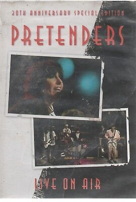 Pretenders Live On Air 20Th Anniversary Special Edition Dvd Still Sealed