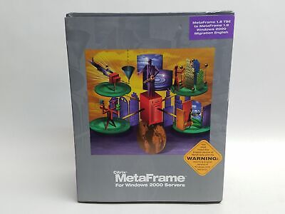 Citrix MetaFrame Version 1.8 Software Windows 2000 EACMMM18K00