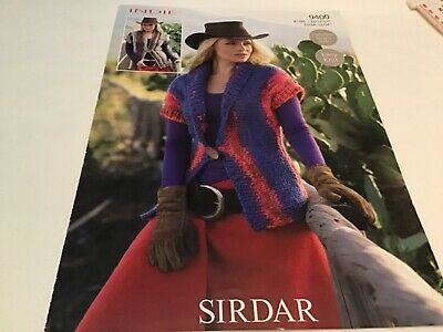 """Sirdar Indie Ladies Cable Sweater Knitting Pattern 9591 Sizes 32-42/"""""""