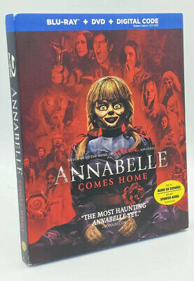 Annabelle Comes Home [2019]  Blu-ray+DVD+Digital with Slipcover