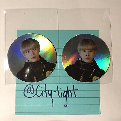 NCT 127 We Are Superhuman Official Jungwoo Circle Cards