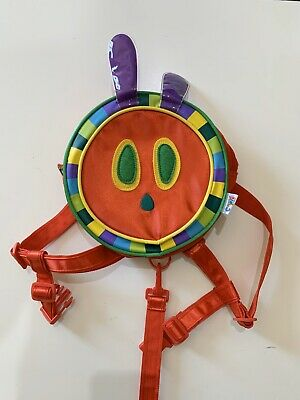 The Very Hungry Caterpillar Bag Kids Toddler Harness Backpack