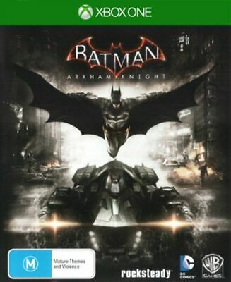 Batman: Arkham Knight (Microsoft Xbox one, 2015) AS NEW PAL REGION 4
