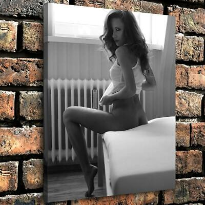 "12""x16""Nude Woman HD Canvas prints Painting Home Decor Picture Wall art"