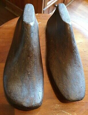 Antique Wooden Cobbler Shoe Moulds