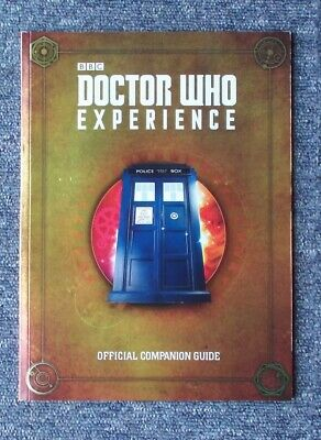 Doctor Who Experience Cardiff - OFFICIAL COMPANION GUIDE BOOK 2017 - VGC