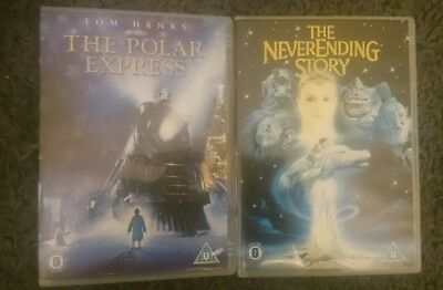 The Polar Express and The Neverending Story - Dvd's