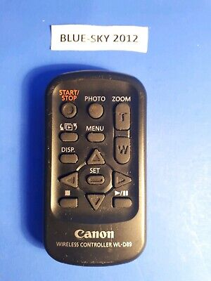 Original Canon WL-D89 Remote Control for LEGRIA HF G40