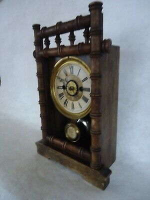 Antique American Alarm Clock. Spares or Repair