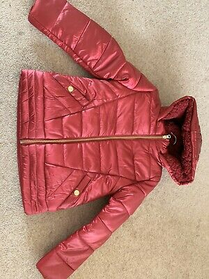 Girls Dunnes Stores Coat Age 9
