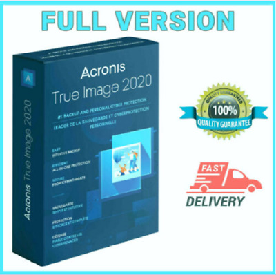 🔥Acronis True Image Backup 2020 ISO - Boot ☑LifetimeLicense ☑Fast Delivery🔥