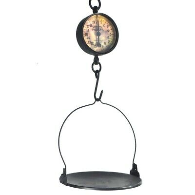 Large Antique Style General Store Grocery/Produce/Candy Hanging Weighing Scale