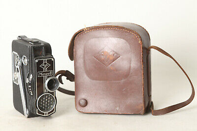 Agfa Movex 8 Film Camera 8mm with Brown Leather Bag (132297)