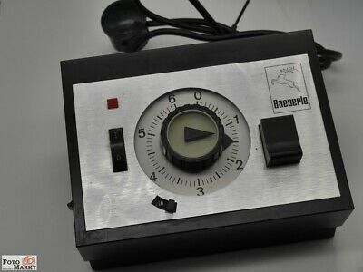 Exposure Timer Photo Laboratory Baeuerle BS 712/411 F.Magnifier Timer Timer