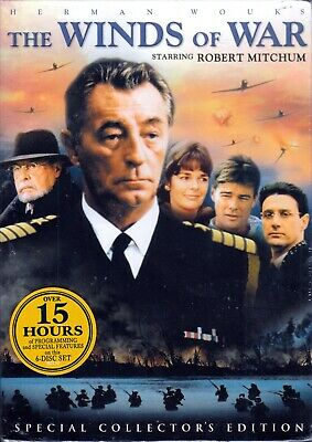 Herman Wouk's The Winds of War Collectors Edition 6 DVD Boxed Set Sealed NEW