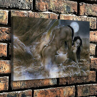 "12""x18""Nude Woman HD Canvas prints Painting Home Decor Picture Room Wall art"