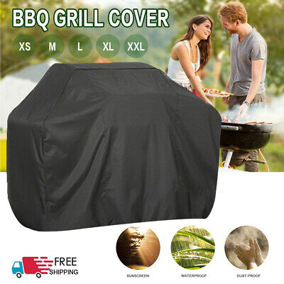 Heavy Duty BBQ Cover Waterproof Medium Barbecue Grill Outdoor Protector XS-XXL