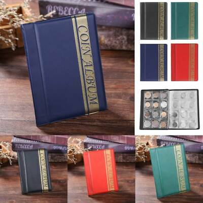 120 Pocket Collecting Coin Penny Money Storage Album Book Holder Case Collection