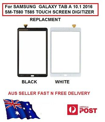 For SAMSUNG  GALAXY TAB WHITE A 10.1 2016 SM-T580 T585 TOUCH SCREEN DIGITIZER