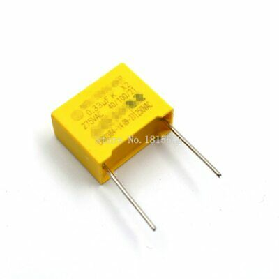 X2 Polyproplene safety capacitor 0.33uF 275VAC Max. 330000pF 330nF