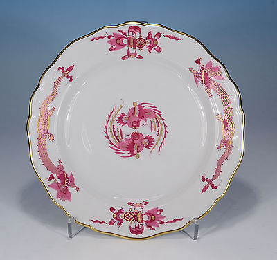 "Meissen "" Court Drache Dragon Purple "" Plate 18 Cm. 1.Wahl"