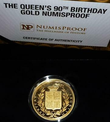 1oz (ounce) GOLD PROOF Queens 90th birthday (Numisproof) see details
