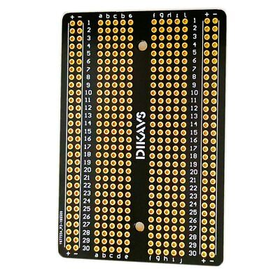Double-sized Welding Breadboard PCB Universal Printed Circuit Board for Arduino