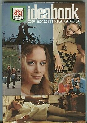 Sperry & Hutchinson Ideabook Of Exciting Gifts Green Stamps Catalog 102819DBE