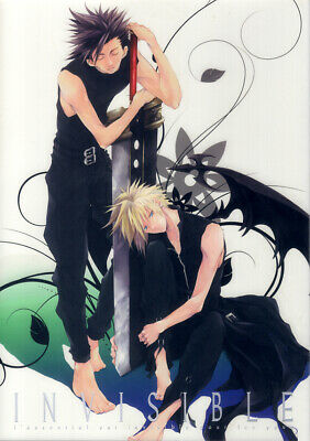 Final Fantasy 7 VII FF7 Doujinshi Comic Zack x Cloud Invisible / Yubinbasya BL