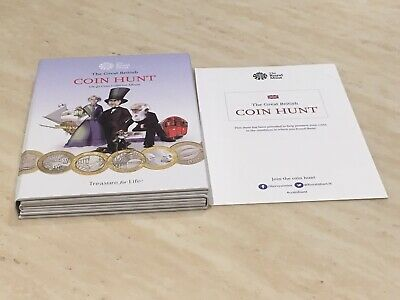 Royal mint great british coin hunt £2 Album Empty Hard To Find Album Lot 1