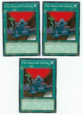 Common x3 The Shallow Grave M//NM SBLS-EN039 1st Edition Yu-Gi-Oh