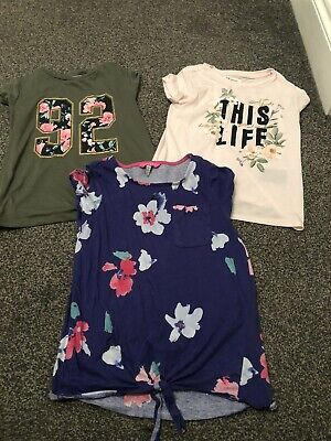 Girls Bundle, H&m Joules Jumper And Tops 8-10 Years  Next Shorts Age 8