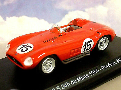 VINTAGE 1955 MASERATI 300S RACE CAR POSTER PRINT STYLE B 24x36 HIGH RES