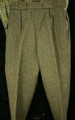 New Ladies Girls Vtg Tweed Breeks Plus Fours Climbing Craghoppers Size 22 / 24 w