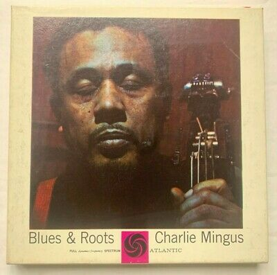 "Charles Mingus ""Blues & Roots"" Reel to Reel Tape ATLANTIC 1909 Excellent cond"