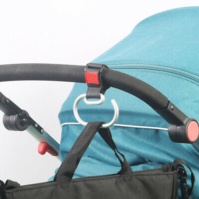 For Pushchair Aluminum Alloy For Shopping Bag Baby Hook Organizer Clip