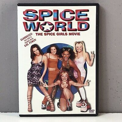 Spice World DVD 1998 Closed Caption DISC NEARLY NEW Rare Spice Girls Movie FAST!