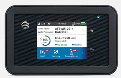AT&T 4G LTE UNLIMITED Data Hotspot AT&T Unite Explore +1 MONTH for Home or RV