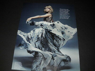 TAYLOR SWIFT wearing Mireille Dagher gown 2014 PROMO POSTER AD mint condition