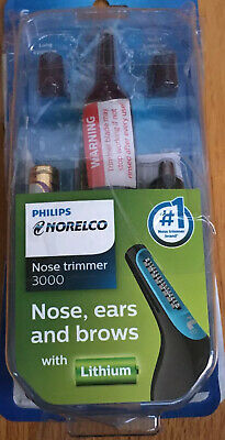 Nose Trimmer for Men 6 Piece for Nose Ears Eyebrow Philips Norelco Home Shaver