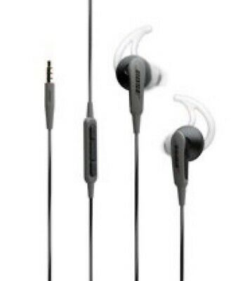 Bose SoundSport In-ear Wired Headphones for Samsung Android IOS - Charcoal Black