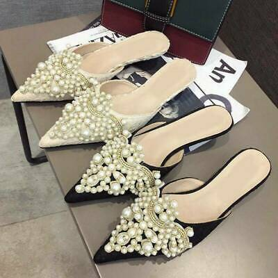 2Pcs Pearl Flower Shoe Clip Rhinestones Removable Pointed Shoes Decorations