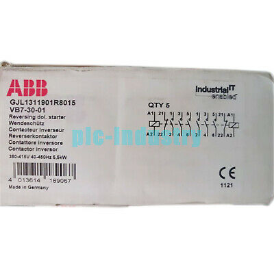 Brand New ABB VB7-30-01 auxiliary contacts VB73001 One year warranty