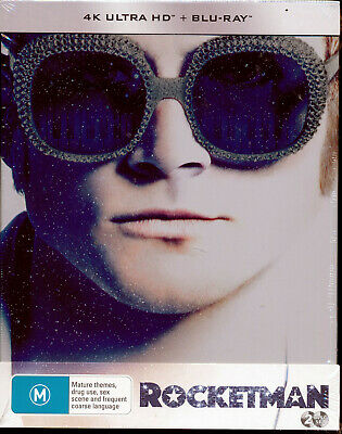 Rocketman 4K Ultra HD + Blu-ray Steelbook NEW Region B