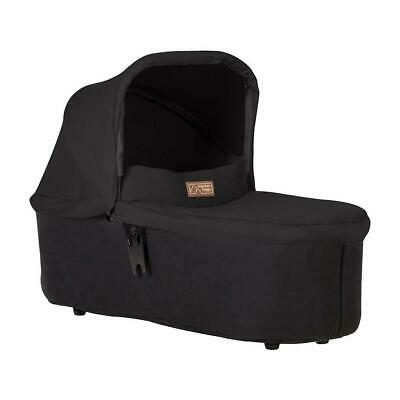 Mountain Buggy Duet v3.2 Carrycot Plus - 2018+ (Black) - Suitable From Birth
